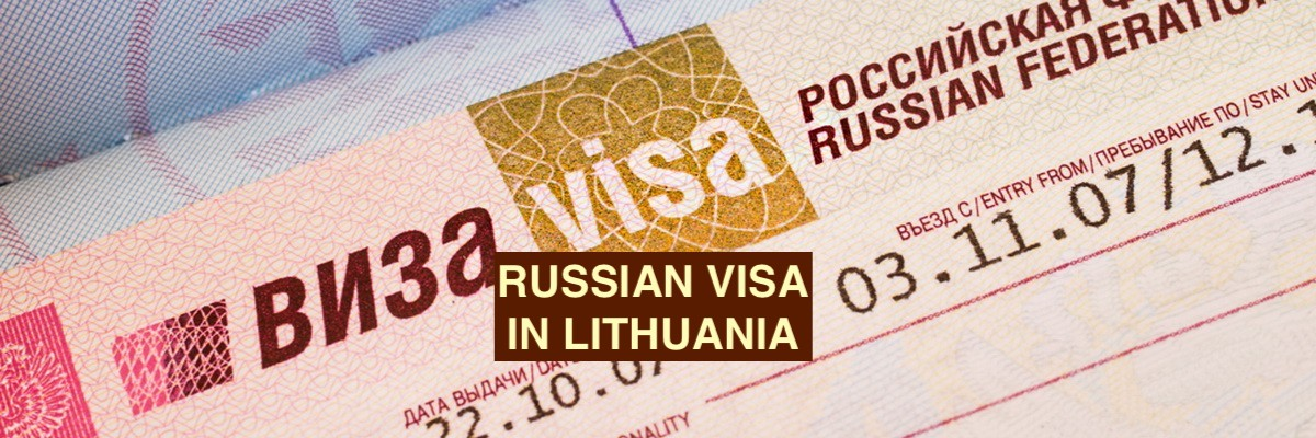 Russian Visa in Lithuania - Featured image