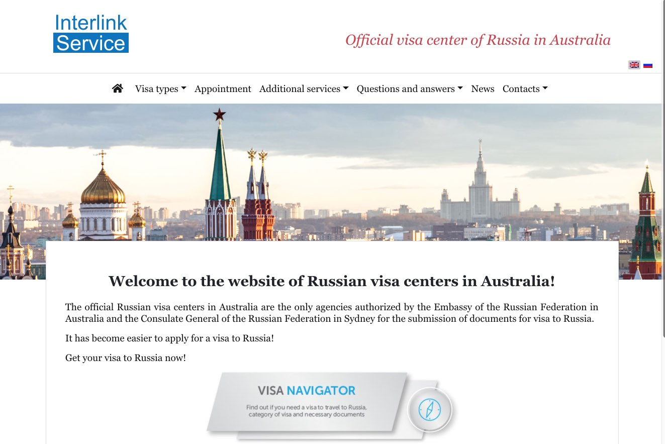 Where do I apply for a Russian visa if I live abroad?